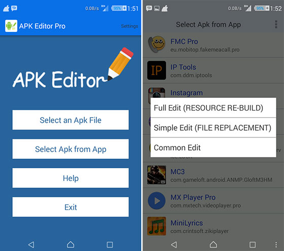 how to remove ads using apk editor pro